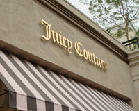 Juicy Couture Signage